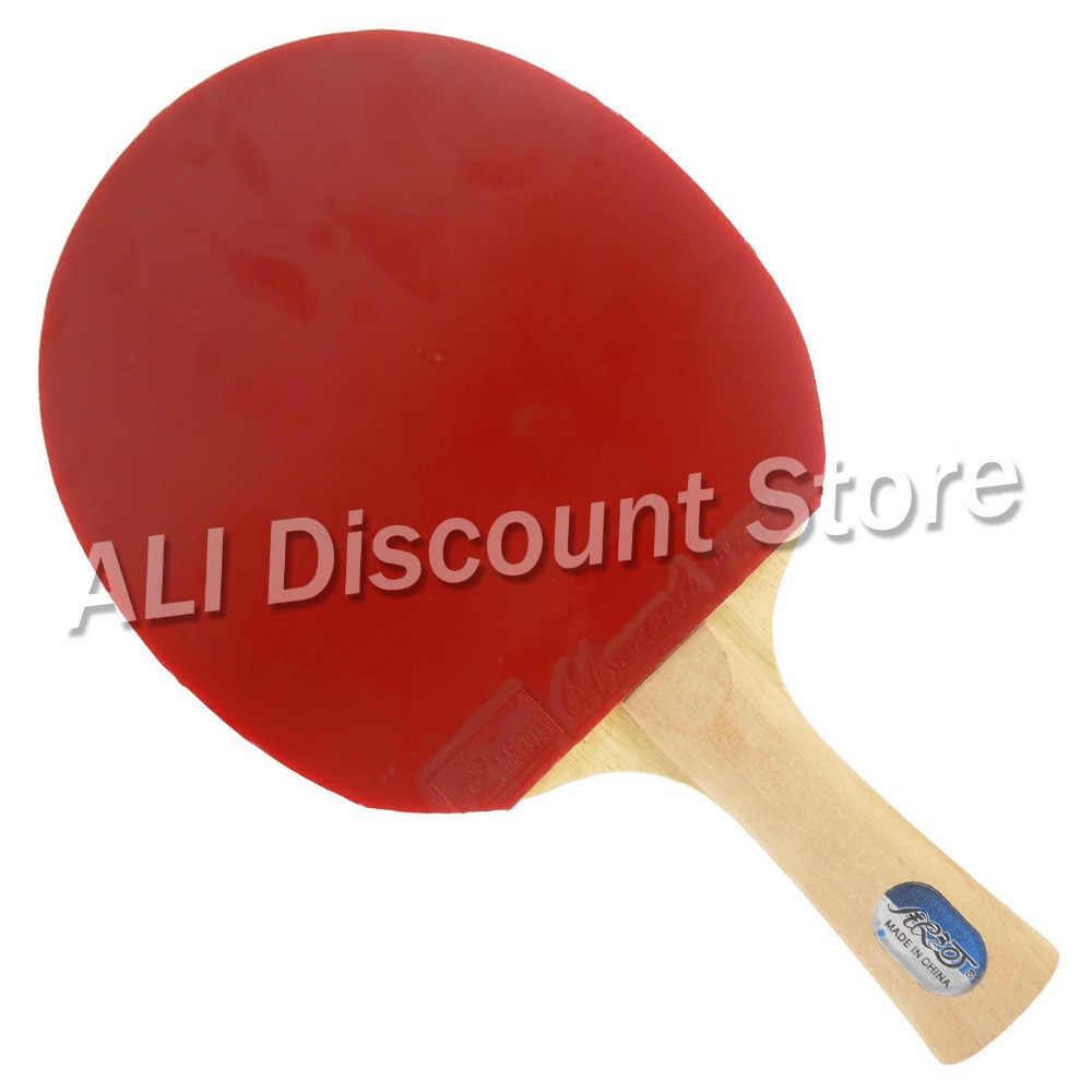 Galaxy T-11+ Blade with 2x 61second LM ST Rubbers for a Table Tennis Combo Racket FL