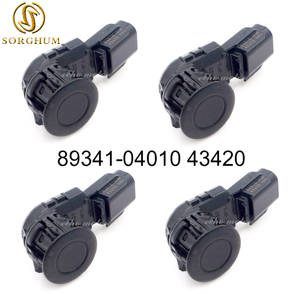 4 pièces capteur d'aide au stationnement à ultrasons PDC convient à Toyota Sequoia 89341-04010 43420