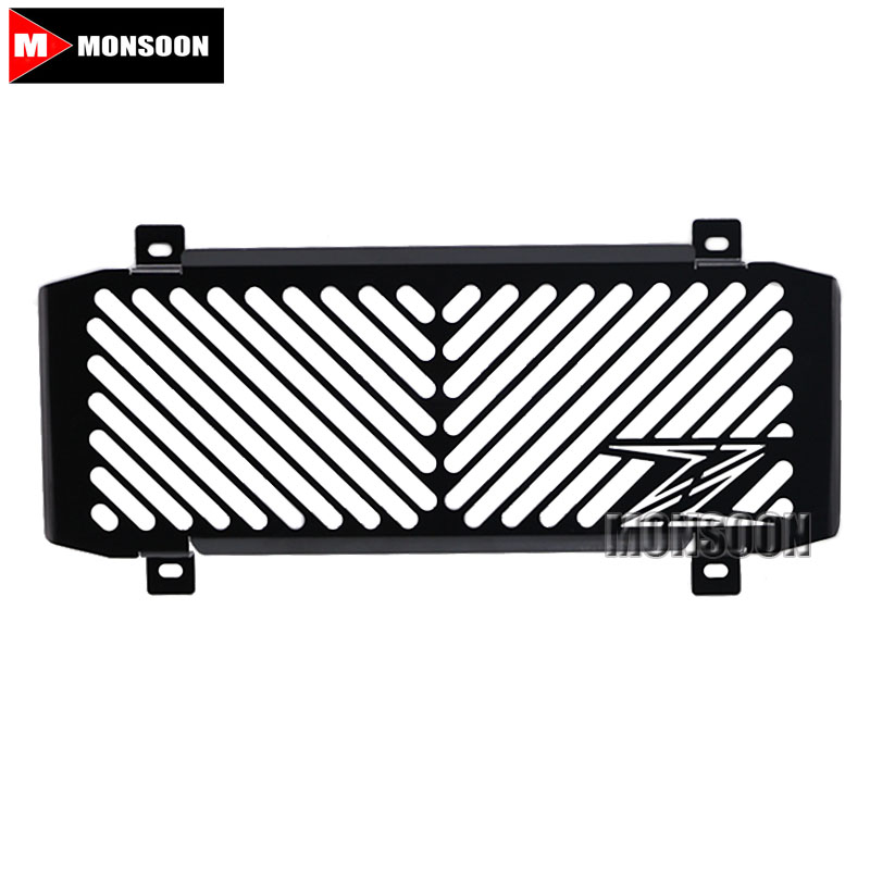 For KAWASAKI Z650 Z 650 2016-2017 Motorcycle Accessories Radiator Grille Guard Cover Fuel Tank Protection Net motorcycle radiator grill grille guard screen cover protector tank water black for bmw f800r 2009 2010 2011 2012 2013 2014