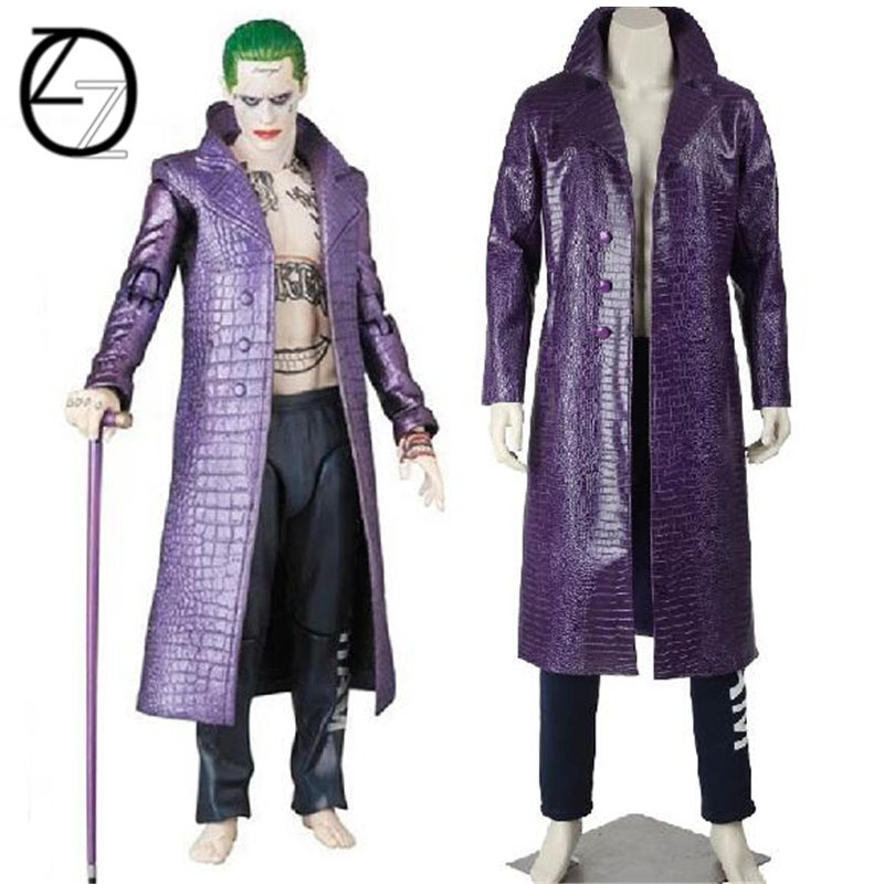Suicide Squad Joker Halloween Costume.Us 71 9 49 Off Harley Quinn Suicide Squad Cosplay Costume Custom Made Suits Halloween Costumes For Adult Suicide Squad Joker Cosplay Costume In