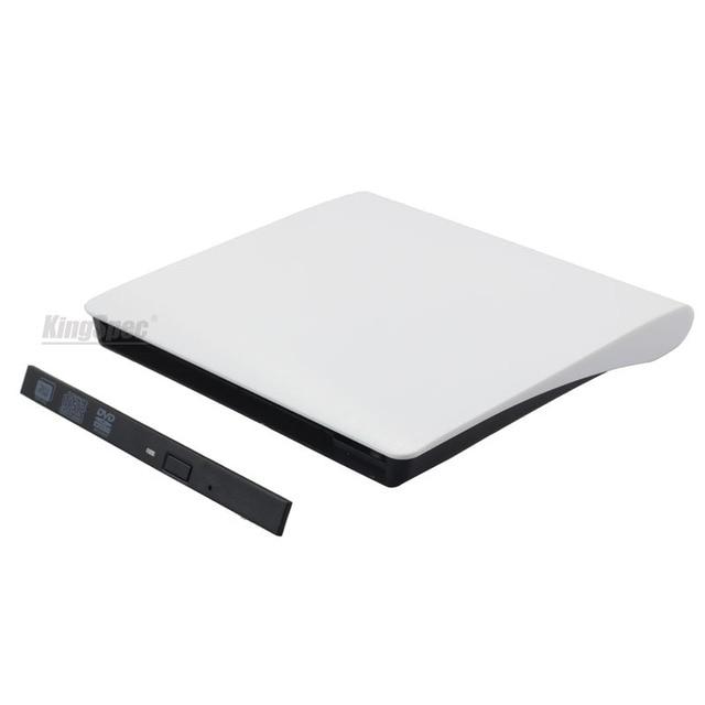 New USB 3.0 12.7mm Sata Super Slim Bluray External DVD Enclosure For ODD/HDD DVD-RW Blue Ray Drive notebook External Case