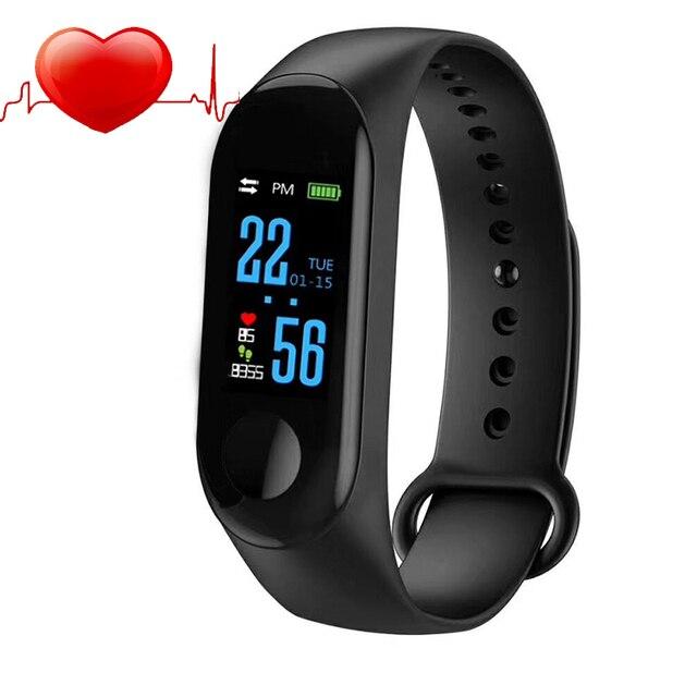 SANDA Bracelet Smart Watch Children Kids Watches For Girls Boys Electronic LED D
