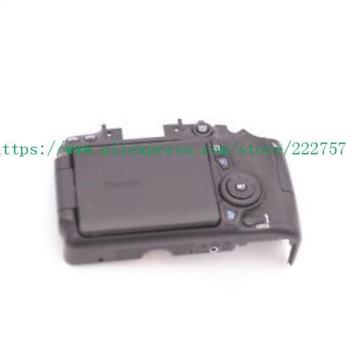 Pièces de rechange pour Canon pour EOS 70D coque arrière couverture arrière Assy avec écran LCD carte SD bouton de porte câble flexible
