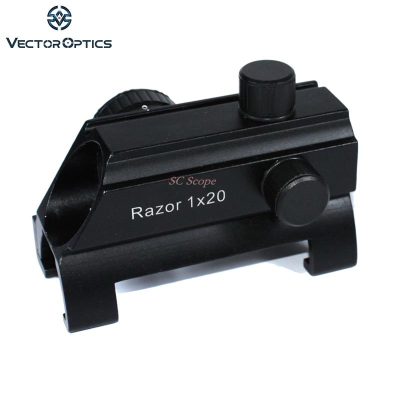 optica do vetor mp5 g3 1x20 garra compacta red dot rifle scope visao