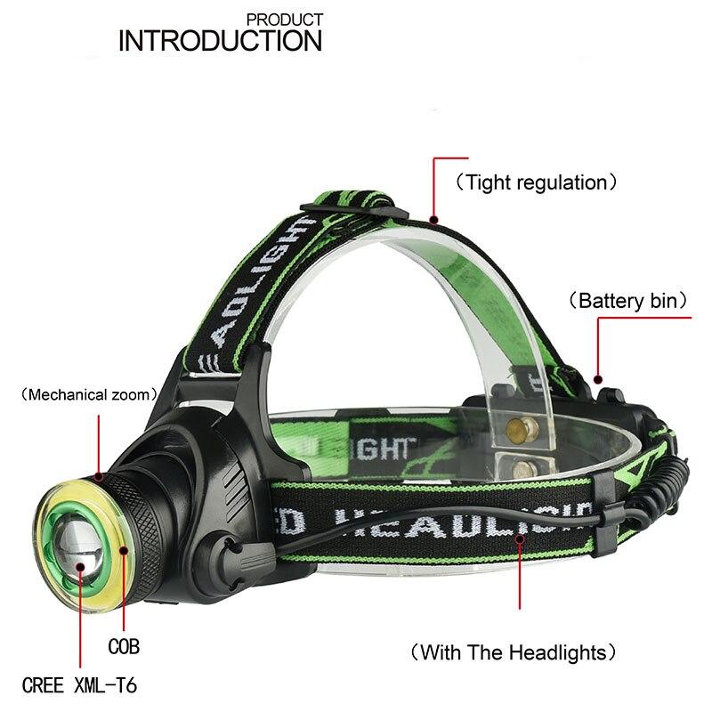 a04802570 Goodland linterna LED USB T6 linterna LED Mini práctico recargable 18650 de  alta potencia de 3