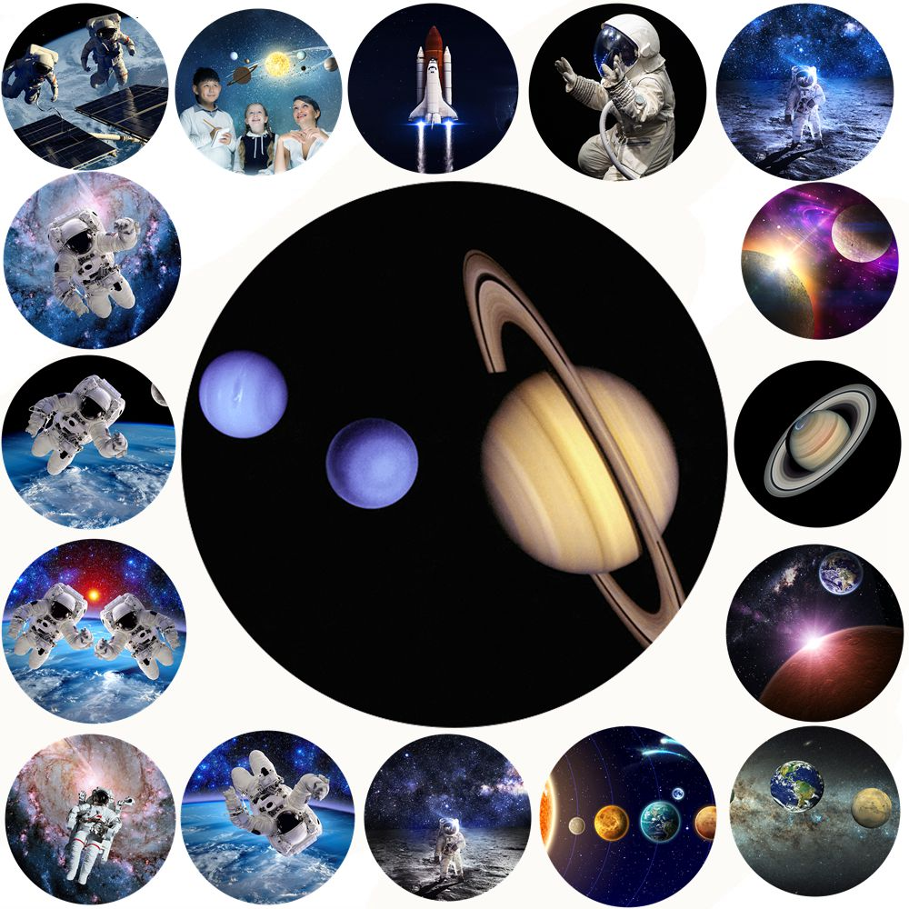 100 Pcs/Lot Space Moon Sky , Cosmonaut Super High Expanding Stand and Grip Mount for iPhone Danger Thunder Tablets for Xiaomi