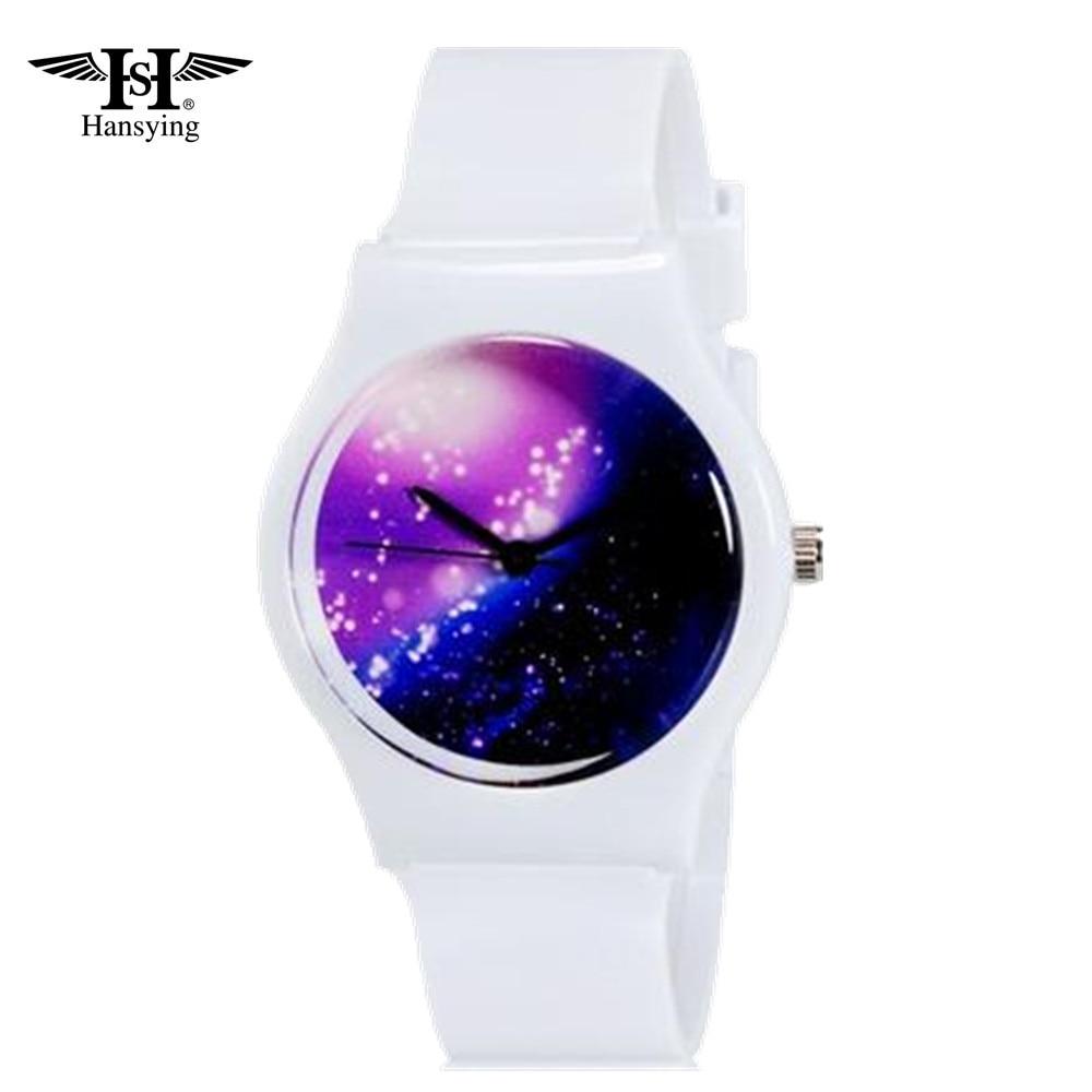 Hansying Mini Student's's Kid's Sky Night's Night Night Analog Quartz Wrist Watch