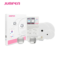 Mini TENS Therapy Device JPD ES100 Wireless Electronic Pulse Stimulator Massager Body Slimming By Bluetooth Phone