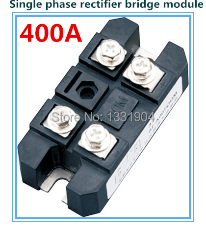 free shipping 400A Single phase Bridge Rectifier Module MDQ 400 welding type used for DC and rectifying power supply dfa100ba80 dfa75ba160 three phase thyristor bridge rectifier module 100a 1600v