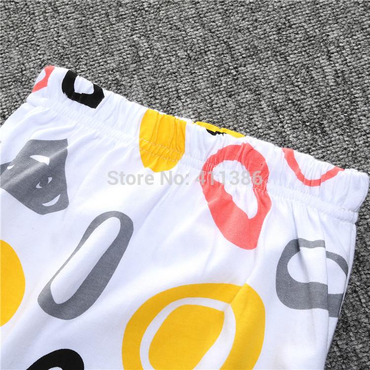 ST189 2017 Nowa dziewczyna przyjazdu i chłopców ubrania ustawić długi rękaw + Spodnie sowa wzór zestaw noworodka ubrania dla dzieci garnitur dzieci odzież 8