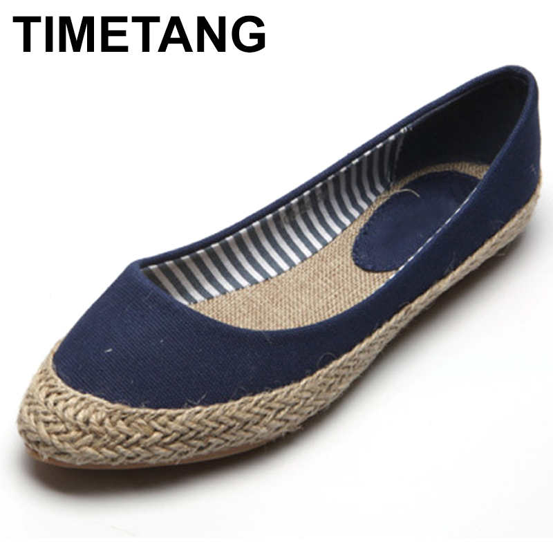 TIMETANG plus size 41 new women comfortable cavans flat casual shoes fashion nurse officer driver lazy loafer shoes C314 women s shoes 2017 summer new fashion footwear women s air network flat shoes breathable comfortable casual shoes jdt103