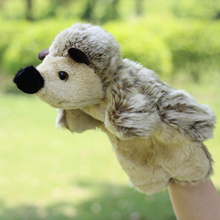 Plush Hedgehogs  hand puppet toy Large  toys puppets comfort doll gloves tell story even a finger gift