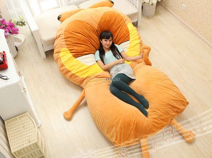 Fancytrader 220cm X 150cm Huge Giant Cute Garfield Bed Carpet Sofa Tatami, Great Gift! Free Shipping FT90351 (4)