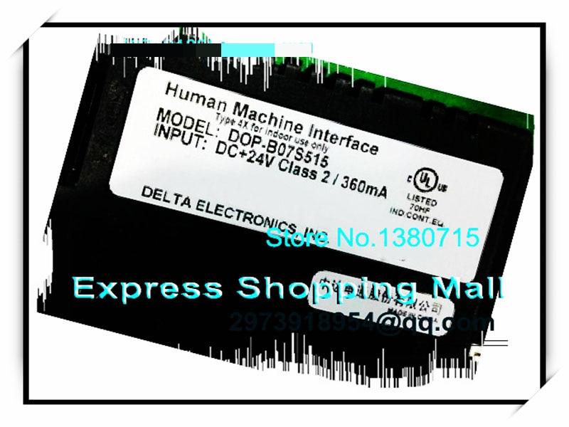 DELTA DOP-B07S515 7 inch HMI touch screen panel dop b07s515 delta new original 7 hmi 800 600 128mb dop b07s515 touch panel dopb07s515 1 usb host 1 year warranty fast ship
