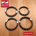 42.3mm/38.8mm de alta qualidade de cerâmica inserir loop para Rlx Daytona Cosmograph relógio rlx assista bezel substituição aftermarket partes