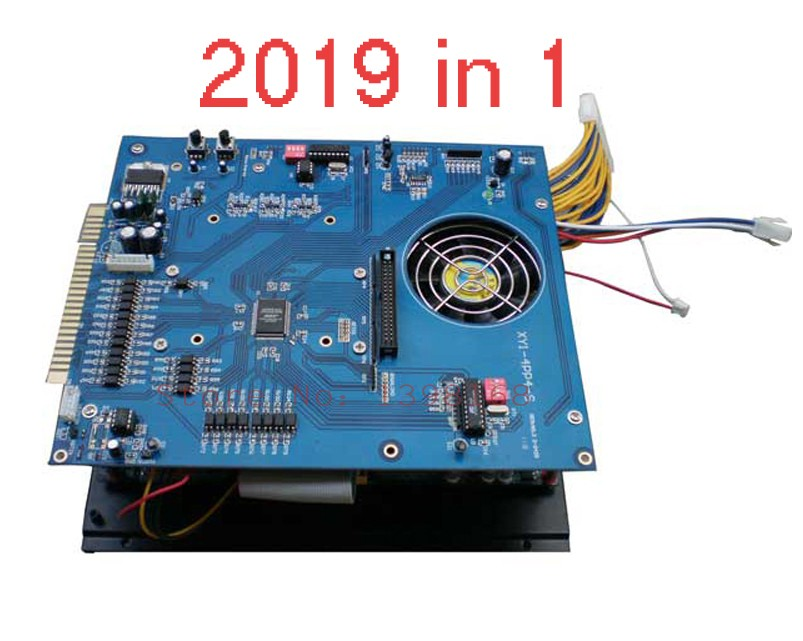 2019 in 1 Arcade Jamma PCB Multi Game Board Arcade game board/ 40G HDD VGA/CGA output machine mainboard 2016 new arrival free shipping game elf 750 in 1 jamma multi game pcb can deal with cga