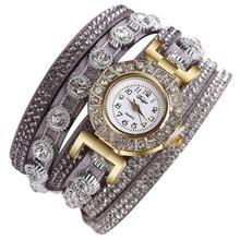 Damesmode Casual Analoog Quartz Dames Bergkristal Horloge Armband Dameshorloge 2018 merk luxe Quartz Armband