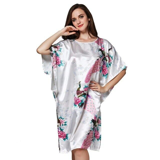 Bathrobe Sleepwear Home Clothes Clothing Robe Female Pyjamas women  Nightgown Nightdress negligees Night dress shirt nightie 0e20fe5c7