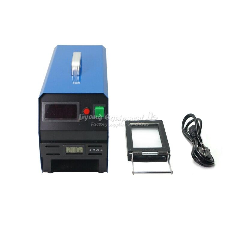 LY P30 цифровой Температура управления вспышки штамп машины и машинка для светочувствительных штампов
