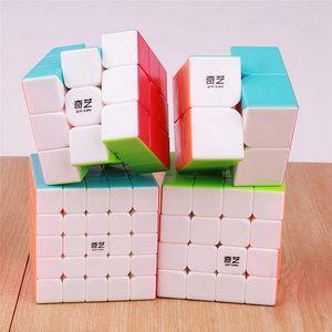Image 5 - Qiyi Warrior 3X3X3 4X4X4 5X5X5 Magic Cubes Kinderen speelgoed Speed Puzzels Kubus Learning Sticker Minder Magico Speelgoed Pocket Cube 2x2x2