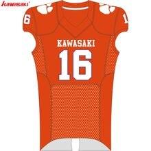 Kawasaki Personalizada Camisas De Futebol Respirável desgaste Da Equipe de Futebol  Americano Esportes Para Mulheres Dos Homens A.. d495fbef15c92