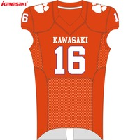 Kawasaki Custom Football Jerseys Breathable Football American Sports Team wear For Men Women Teenager Shirt Football 008