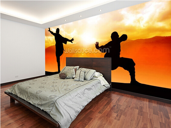 Aliexpress Custom Art Wallpaper Martial Arts Photo Murals For The Living Room Bedroom Kitchen Wall Waterproof Papel De Parede From Reliable