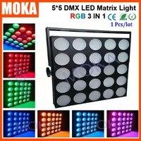 China manufacturer 5*5 DMX LED Matrix Light RGB Blinder Matrix Light for Stage