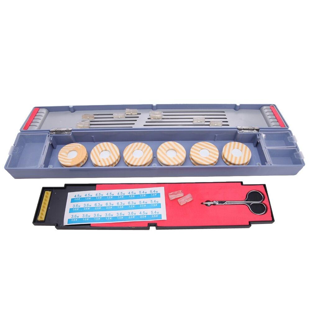 Multifunctional Professional Fishing Tackle Boxes Fishing <font><b>Float</b></font> Set Lures Pesca Fishing Line Bobbins Scissors Storage Box NEW