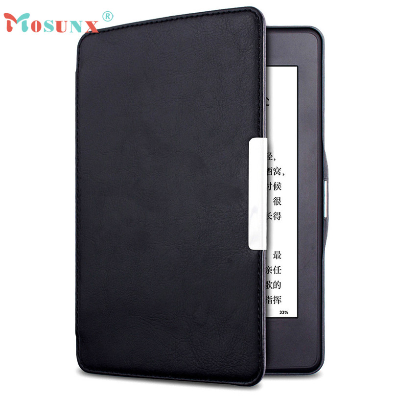 Подробнее о Hot-sale MOSUNX Tablet Magnetic Auto Sleep PU Leather Cover Case For Amazon Kindle Paperwhite 2016 (7th Generation) 6 inch Gifts mosunx hot selling magnetic auto sleep pu leather cover case for amazon kindle new 2016 8th generation 6 inch free gift