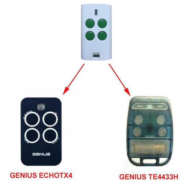 GENIUS TE4433H ECHOTX4 replacement garage door Remote control c30 genius комбинированный станок