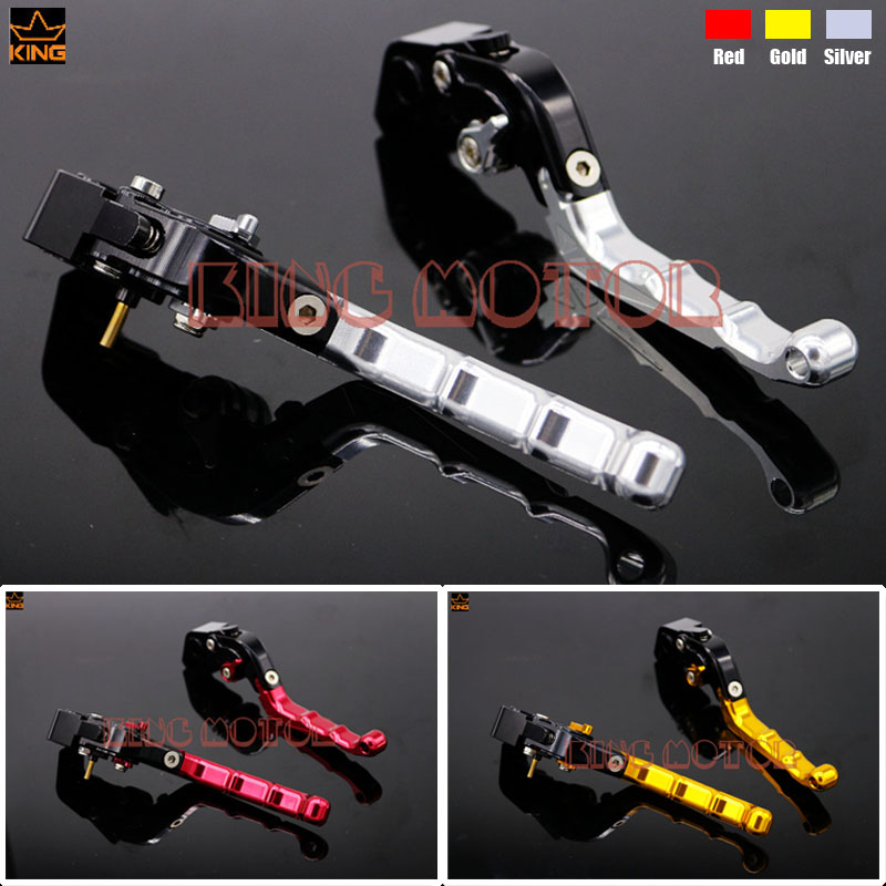 ФОТО For DUCATI 1098 1198 1199 Motorcycle Accessories Adjustable Folding Brake Clutch Levers Silver