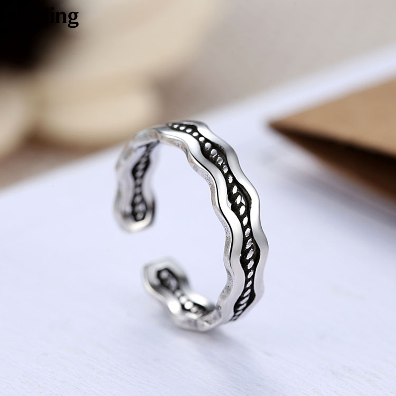 Free Shipping Jewelry Wholesale 925 Sterling Silver Rings For Women Jewelry Beautiful Finger Rings For Party Birthday Gift