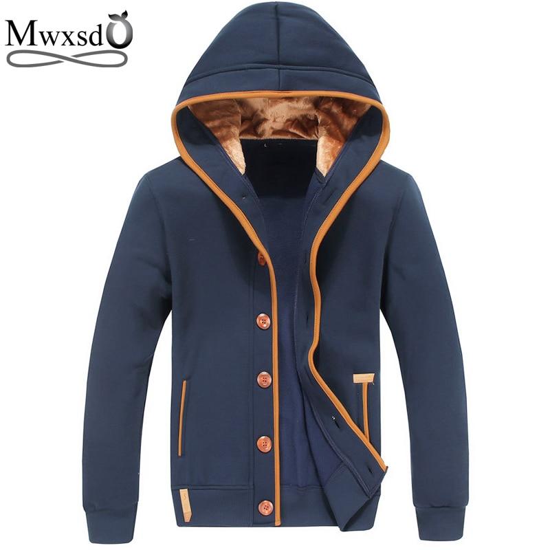 Mwxsd marca para hombre otoño sudaderas con capucha para hombres - Ropa de hombre - foto 1