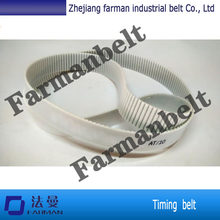 AT10 timing belt with teeth cloth for industry ,AT 10 with steel cord PU conveyor belt,high-quality of AT10 pu timing(China)