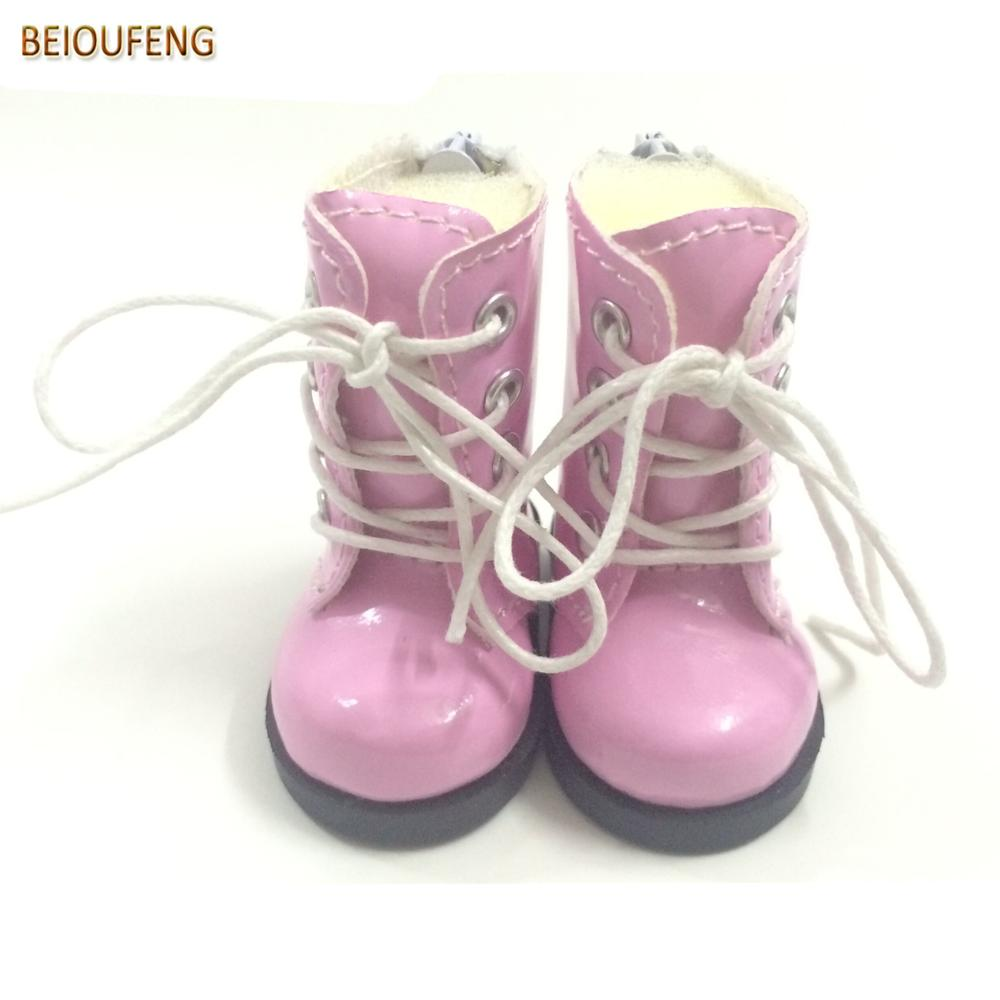 BEIOUFENG 5CM Toy Shoes 1 6 BJD Doll Shoes for Fabric Dolls Causal Sneakers Shoes Doll