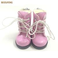 BEIOUFENG 5CM Toy Shoes 1/6 BJD Doll Shoes for Fabric Dolls,Causal Sneakers Shoes Doll Boots Dolls Accessories 12 Pairs/Lot