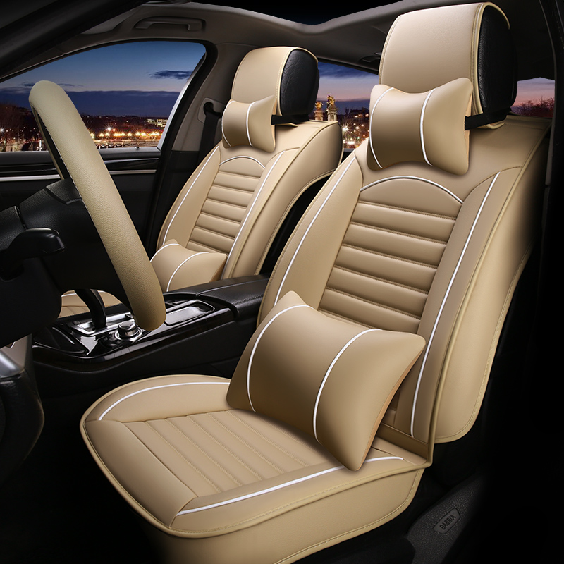 Leather Universal car seat cover for isuzu d max D mu X all models car accessories in Automobiles Seat Covers from Automobiles Motorcycles