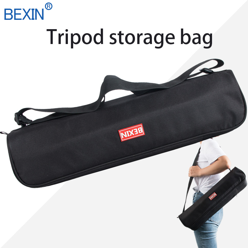 BEXIN nylon material black waterproof tripod bag storage bag 500mm profession tripod accessories use for large tripod image