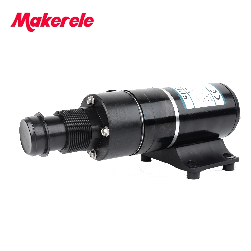 Macerator Pump Sewage 12vdc 24vdc 45L/min 12GPM Dual Blade Centrifugal Impeller For Sanitation Waste And Fish Box Evacuations