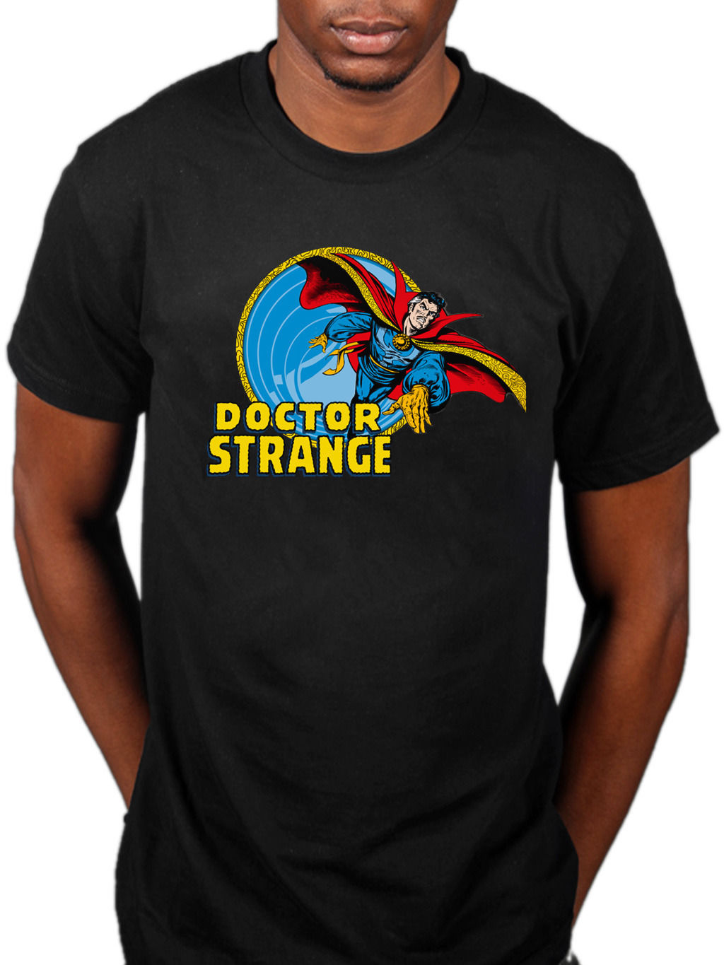 OFFICIAL MARVEL COMICS DOCTOR STRANGE VORTEX T-shirt Tales NUOVO Merchandise