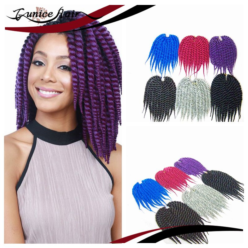 hair extension Free gift crochet Havana Mambo Twist Braiding Hair ...