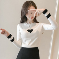 2 Colors 2017 Autumn Winter Women S New Korean Version Fashion Lovely Sweaters Tops Sweater Women