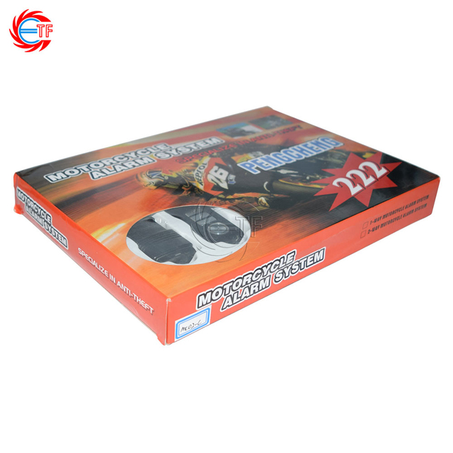 MC02-C Motorcycle Alarm System 125dB Sound Siren Waterproof Main unit & 2pcs Metal Remote Controller Motorbike Burglar Alarm