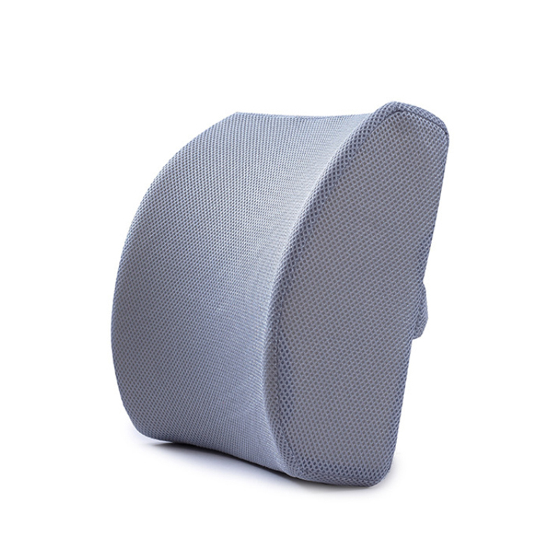 HTB1A5K1aynrK1Rjy1Xcq6yeDVXa6 Soft Memory Foam Lumbar Support Back Massager Waist Cushion Pillow for Chairs In The Car Seat Pillows Home Office Relieve Pain