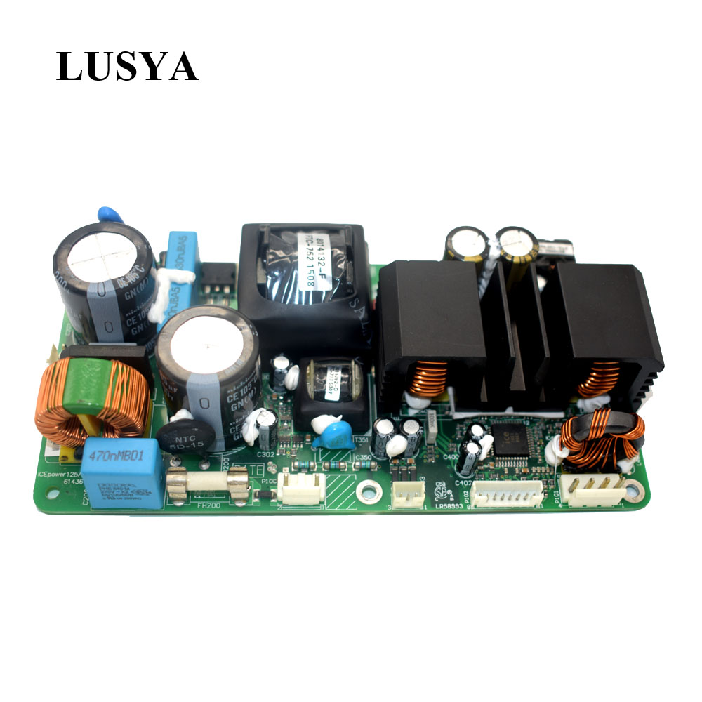Lusya ICEPOWER power amplifier board ICE125ASX2 Digital stereo power amplifier board fever stage power amplifier H3-001