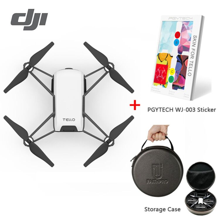 Tello drone DJI realizar Flying trucos, Shoot Quick videos con ez disparos y aprender sobre drones con codificación educación
