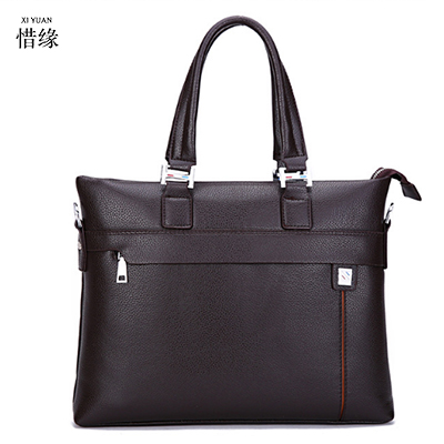 XIYUAN BRAND Men's PU Leather hand Bags for Men Fashion Briefcase Travel handBag Male Bolsa Men Messenger Shoulder Crossbody Bag xiyuan genuine leather handbag men messenger bags male briefcase handbags man laptop bags portfolio shoulder crossbody bag brown