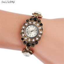SmileOMG Hot Sale New Fashion Women's Retro Owl Diamond Metal Bracelet Wrist Watch Free Shipping ,Sep 19