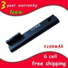 Новый аккумулятор для ноутбука NY221AA NY220AA HSTNN-LBOC 537626-001 HSTNN-CBOC для HP/Compaq Mini110 1101 110c-1000 Series
